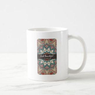Caneca De Café Design colorido 10-01 de Idian da textura do