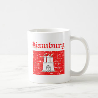 Caneca De Café Design da cidade de Hamburgo