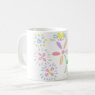 Caneca De Café Design da flor