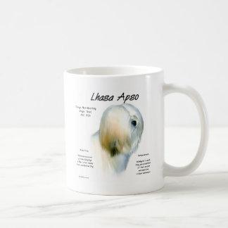 Caneca De Café Design da história de Lhasa Apso