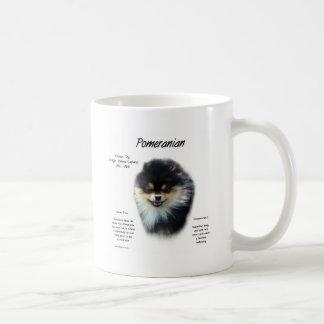 Caneca De Café Design da história de Pomeranian