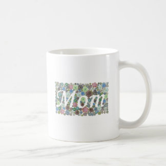 Caneca De Café Design da mamã dos Succulents
