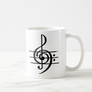 Caneca De Café Design da nota musical