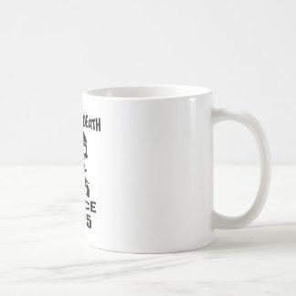 Caneca De Café Design de engano do aniversário da morte desde