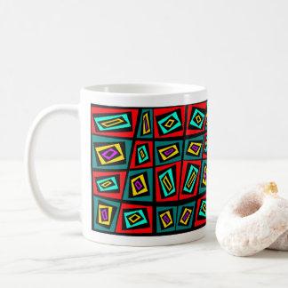 Caneca De Café Design de matéria têxtil pelo artista de Blaise