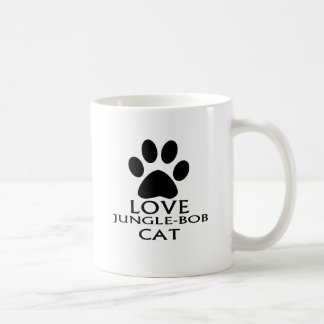 CANECA DE CAFÉ DESIGN DO CAT DO AMOR JUNGLE-BOB