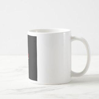 Caneca De Café Design do coração da vela para os Estados da