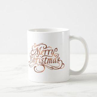 Caneca De Café design do feriado do roteiro do Feliz Natal do