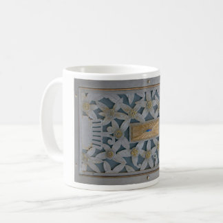 Caneca De Café Design do metal do art deco