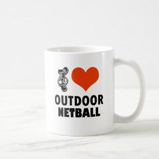 Caneca De Café Design do Netball