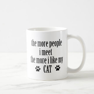 Caneca De Café Design dos amantes do gato