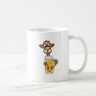 Caneca De Café Design engraçado da cerveja do bebendo do camelo