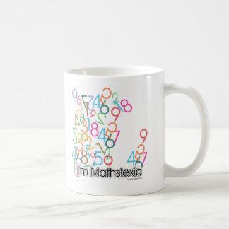 Caneca De Café Design engraçado de Im Mathslexic