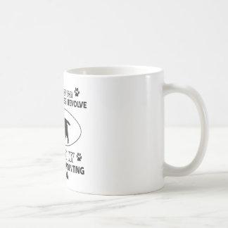 Caneca De Café Design engraçado do griffon apontar wirehaired