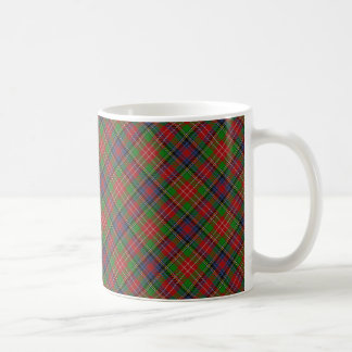 Caneca De Café Design escocês do Tartan de Christie