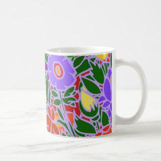 Caneca De Café Design floral #5