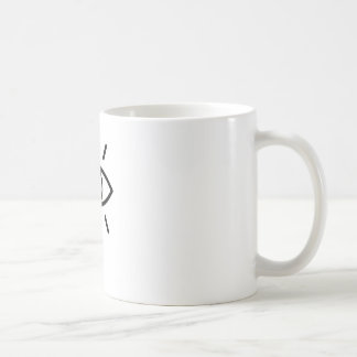 Caneca De Café design gráfico ocasional legal do impressão da