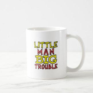Caneca De Café Design grande do miúdo do problema do homem