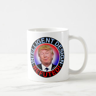 CANECA DE CAFÉ DESIGN INTELIGENTE REFUTED
