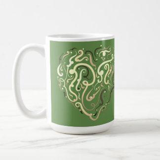 Caneca De Café Design por Leslie Harlow