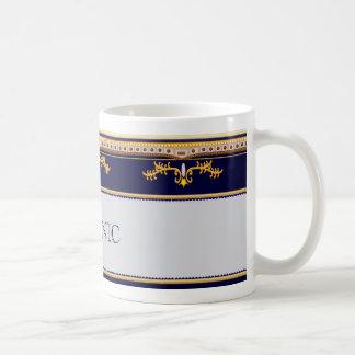 Caneca De Café Design titânico do VIP alterado para o copo