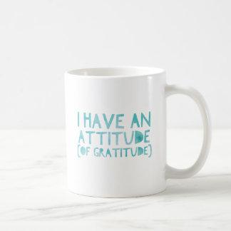 Caneca De Café Desintoxicação AA da recuperação da gratitude da