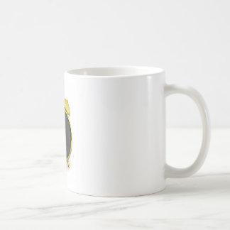 Caneca De Café Despertador dourado