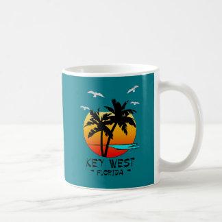 CANECA DE CAFÉ DESTINO TROPICAL DE KEY WEST FLORIDA