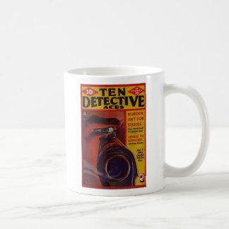 Caneca De Café Dez áss do detetive