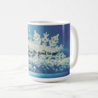 Caneca De Café Dezembro, seja por favor bom!