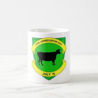 Caneca De Café Dia da apreciação da vaca