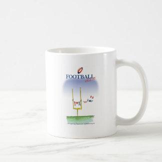 Caneca De Café Dia da lavagem do futebol, fernandes tony