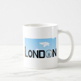 Caneca De Café Dia da skyline de Londres