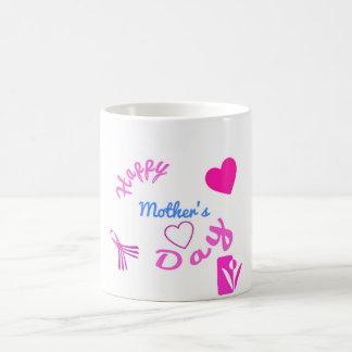 Caneca De Café Dia das mães feliz