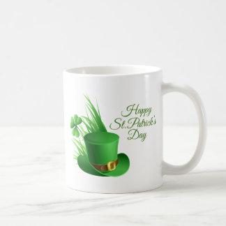 Caneca De Café Dia de São Patrício feliz, santo irlandês do