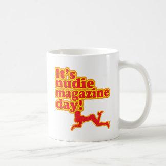 Caneca De Café Dia do compartimento de Nudie!