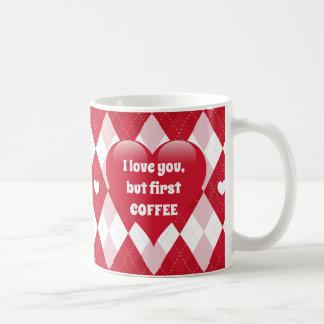 Caneca De Café Dia dos namorados Argyle