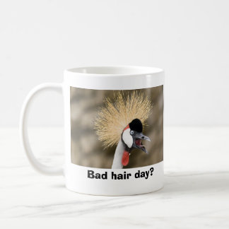Caneca De Café Dia mau do cabelo?