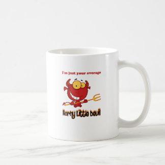 Caneca De Café Diabo pequeno Horny