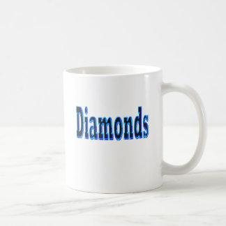 Caneca De Café Diamantes