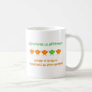 Caneca De Café Différence do la de Tasse Apprivoisons