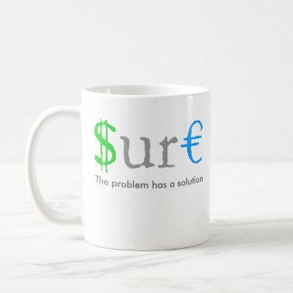 Caneca De Café Dinheiro engraçado certo