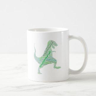 Caneca De Café Dinossauro Dadasaurus do pai