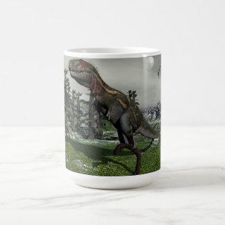 Caneca De Café Dinossauro de Nanotyrannus - 3D rendem