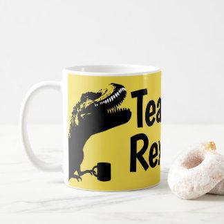 Caneca De Café Dinossauro de Rex do chá