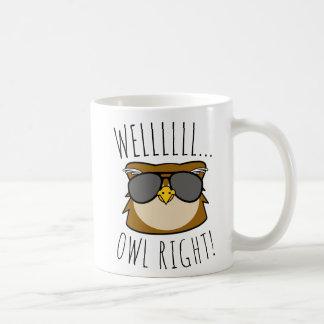 Caneca De Café Direito bom da coruja