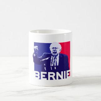 Caneca De Café Discurso das máquinas de lixar de Bernie