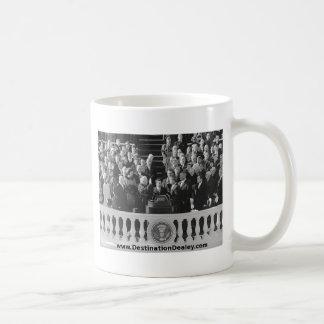 Caneca De Café Discurso inaugural de Kennedy