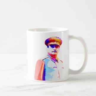 Caneca De Café Ditador Colorido de Josef Stalin WW2 Rússia do