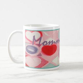 Caneca De Café Diva de Momma! O dia das mães ou agride a qualquer